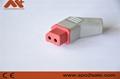 兼容日本光电无创血压连接器机器端插头 3