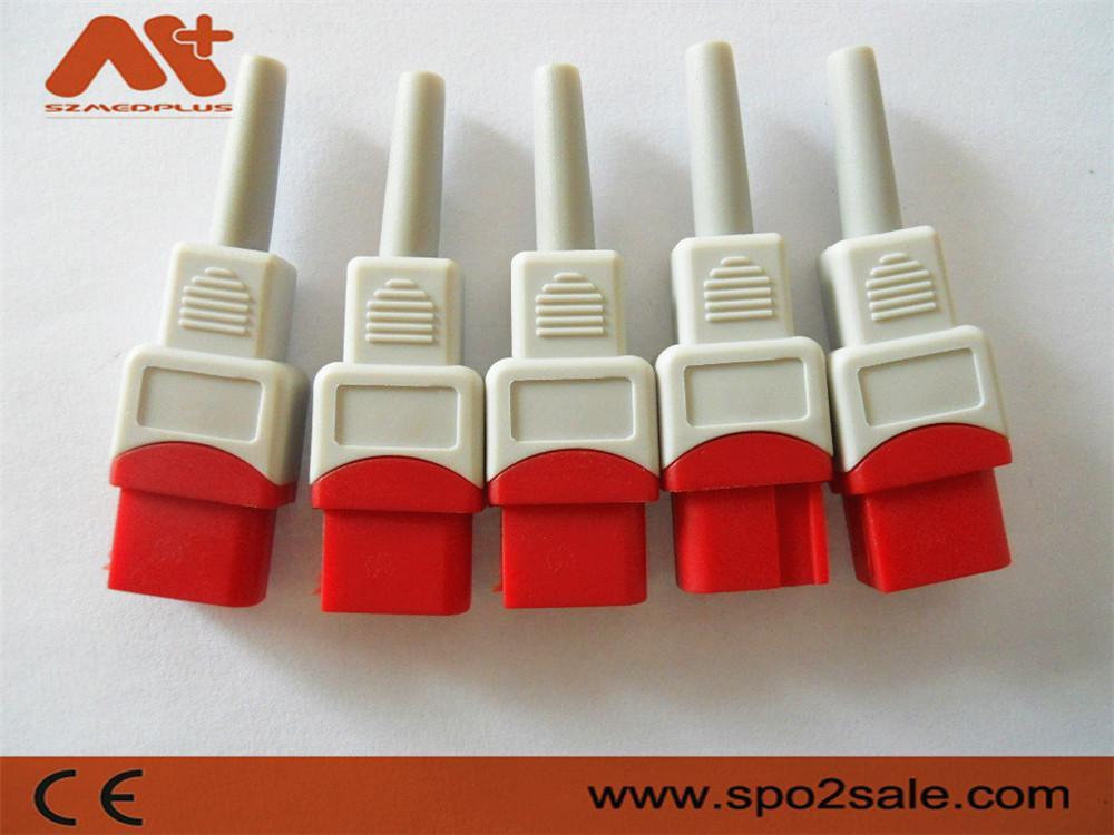 兼容太空有創血壓電纜連接器 4