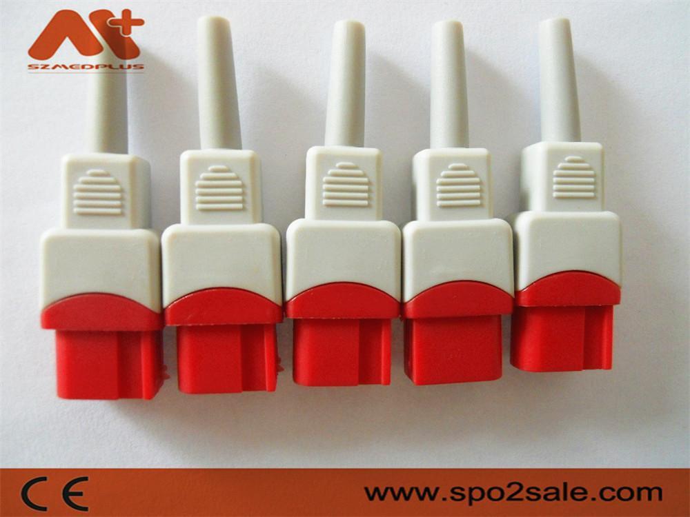 兼容太空有創血壓電纜連接器 6