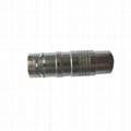Metal circular push-pull connector compatible with K series FGG plug 4