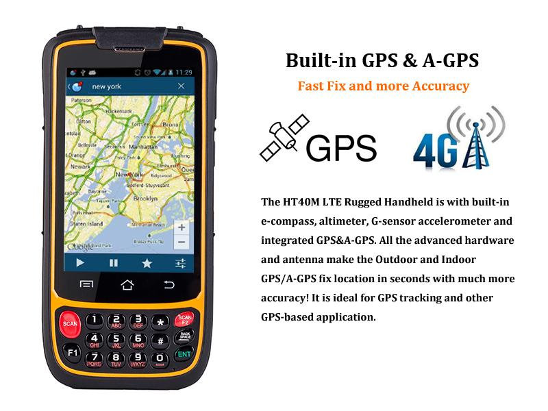 R   ed Handhelds IP65 Quad Core 4G LTE R   ed Handsets with 2D Barcode Scanner  3