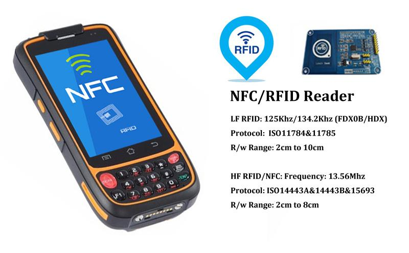 R   ed Handhelds IP65 Quad Core 4G LTE R   ed Handsets with 2D Barcode Scanner  4