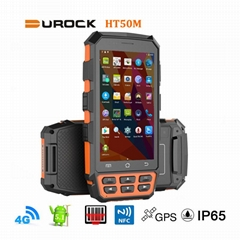Rugged Handheld PDAs IP65 with 5 Inch Larger Screen 4G LTE Rugged Hand Terminals