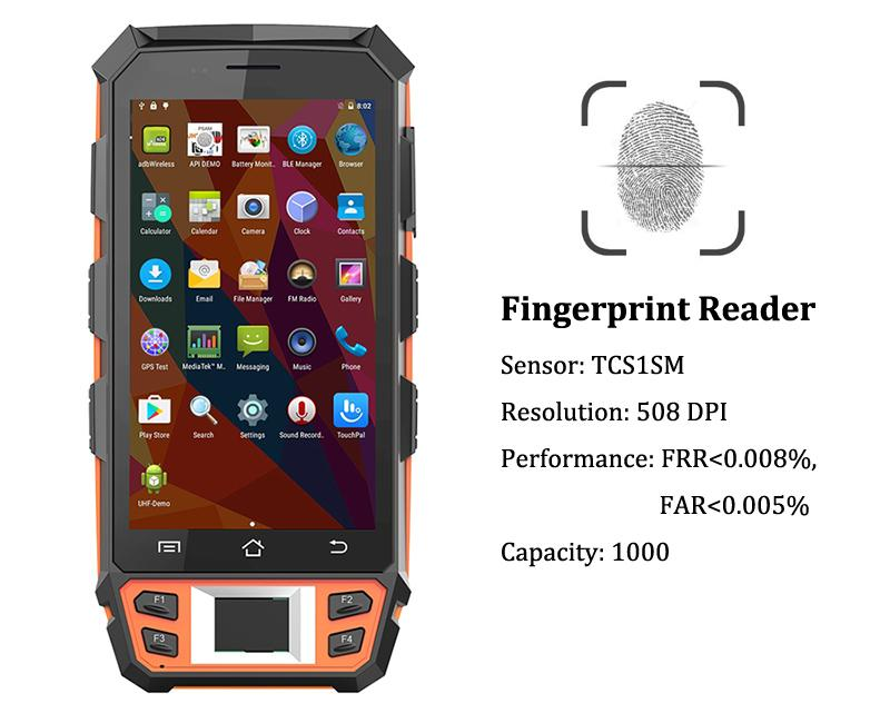R   ed Handheld PDAs IP65 with 5 Inch Larger Screen 4G LTE R   ed Hand Terminals 5