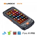 R   ed Handheld PDA with 2D Barcode Scanner RFID Wireless Industrial Android PDA 1