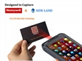 R   ed Handheld PDA with 2D Barcode Scanner RFID Wireless Industrial Android PDA 2