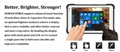 8 Inch IP67 Waterproof R   ed Windows Tablet with NFC 1D 2D Barcode Scanner 2