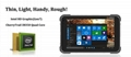8 Inch IP67 Waterproof R   ed Windows Tablet with NFC 1D 2D Barcode Scanner 4