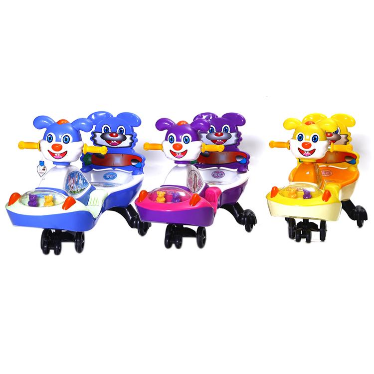 Cheap plastic happy baby kids swing car ride on toys 4