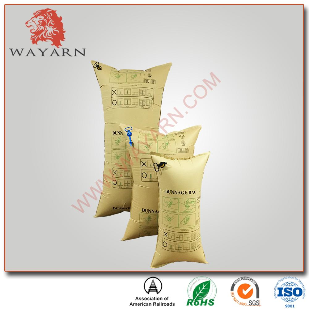 Manufacture Kraft paper inflatable air dunnage bag with SGS certification 4