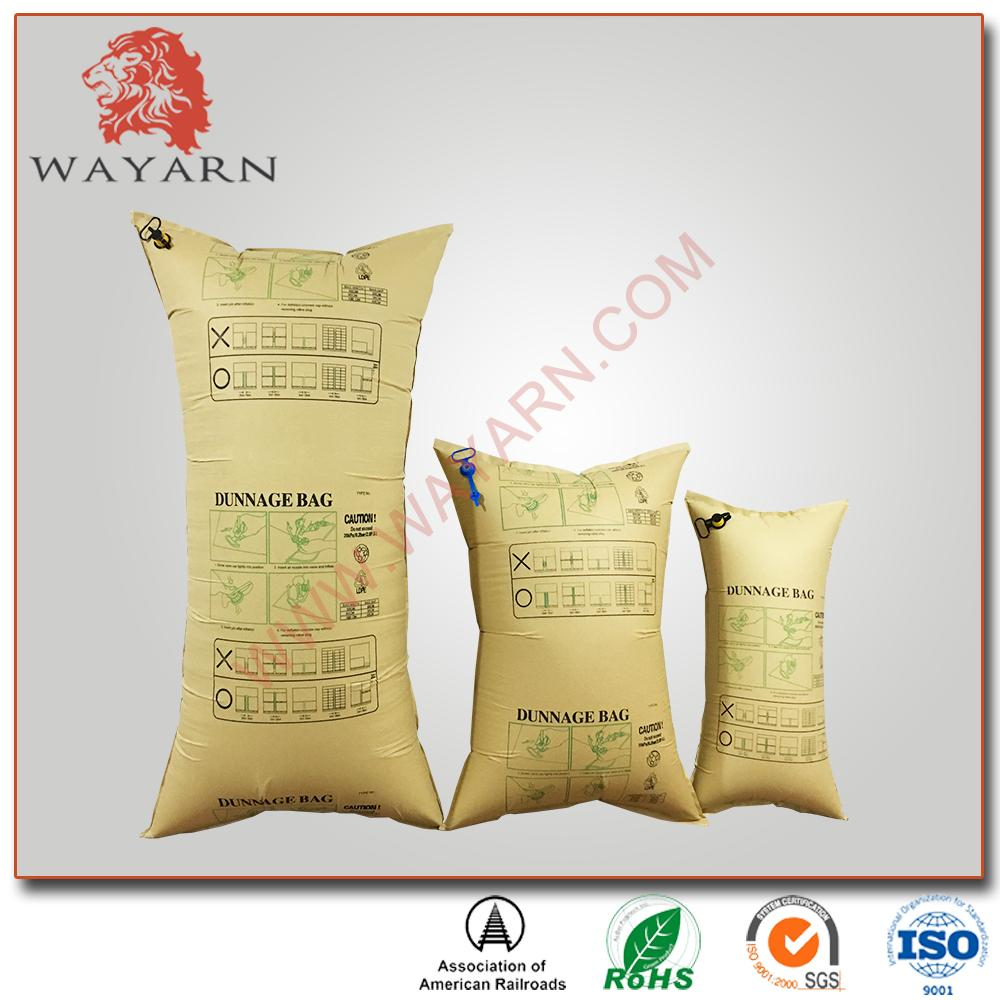 Manufacture Kraft paper inflatable air dunnage bag with SGS certification 5