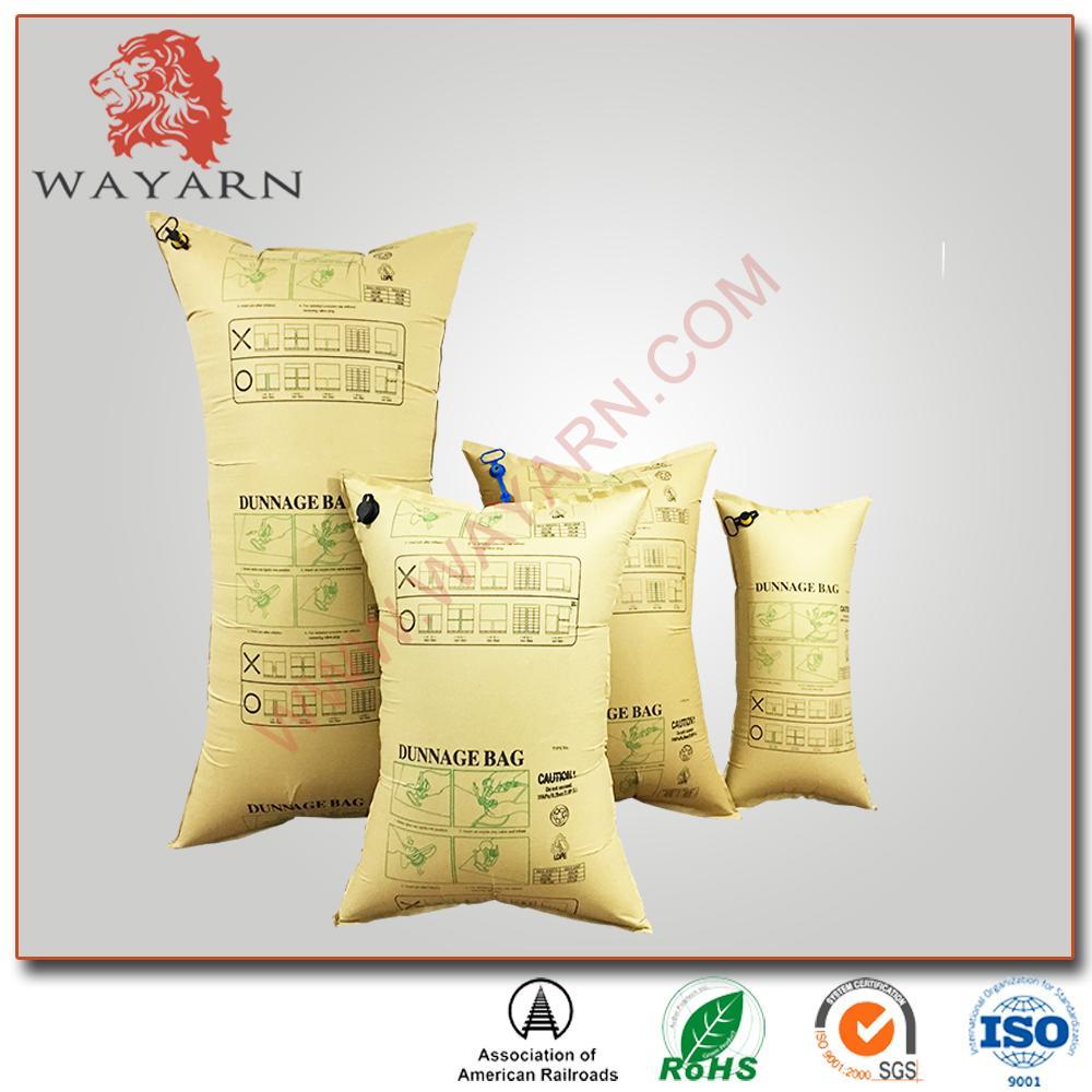 Recycle Brown Kraft Paper Inflator Dunnage Air Bag 3
