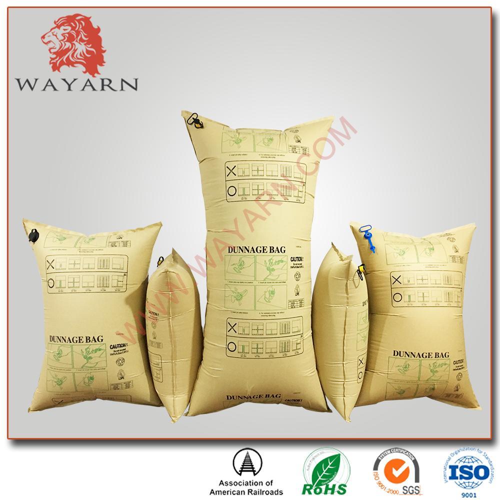 Recycle Brown Kraft Paper Inflator Dunnage Air Bag 5