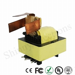 ODM EE55 Horizontal Bobbin Ferrite Core High Frequency Transformer