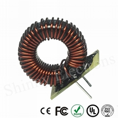 Customized Toroidal Choke Ferrite Induction Core Epoxy Plate Power Inductor Coil
