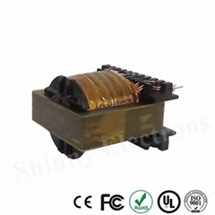 EC Type Ferrite Core EC49 High Frequency PCB Mount Transformer