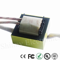 EE65 China Factory Ferrite Core Micro Electric Power High Frequency Transformer