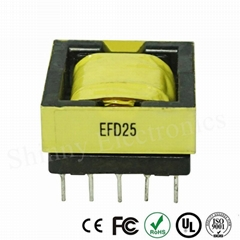High Frequency Micro Small High Voltage Transformer EFD25 Bobbin Ferrite Core (Hot Product - 1*)
