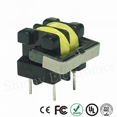 UU Type Ferrite Core High Frequency PCB Mount Transformer UU9.8