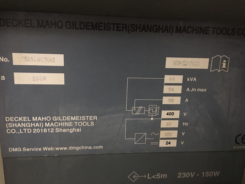 DMG CTX410 CNC slant lathe 3