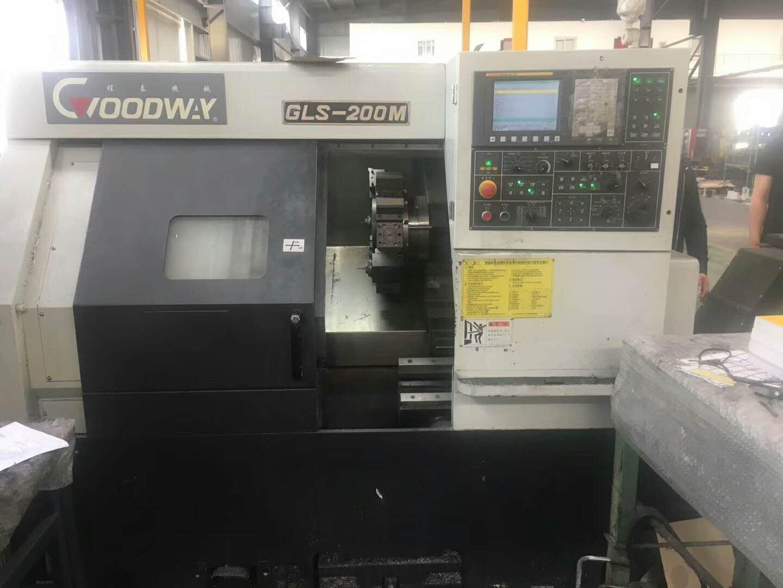 Taiwan Croodway GLS200M slant lathe 1