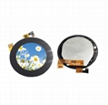 2.1 inch round lcd with Mipi interface with capacitive touch screen tft lcd  1