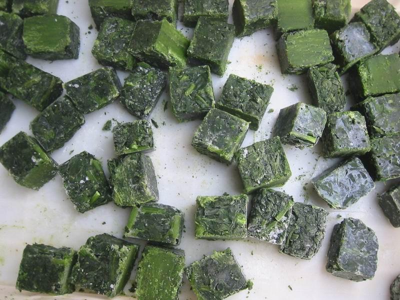 冷冻菠菜 3