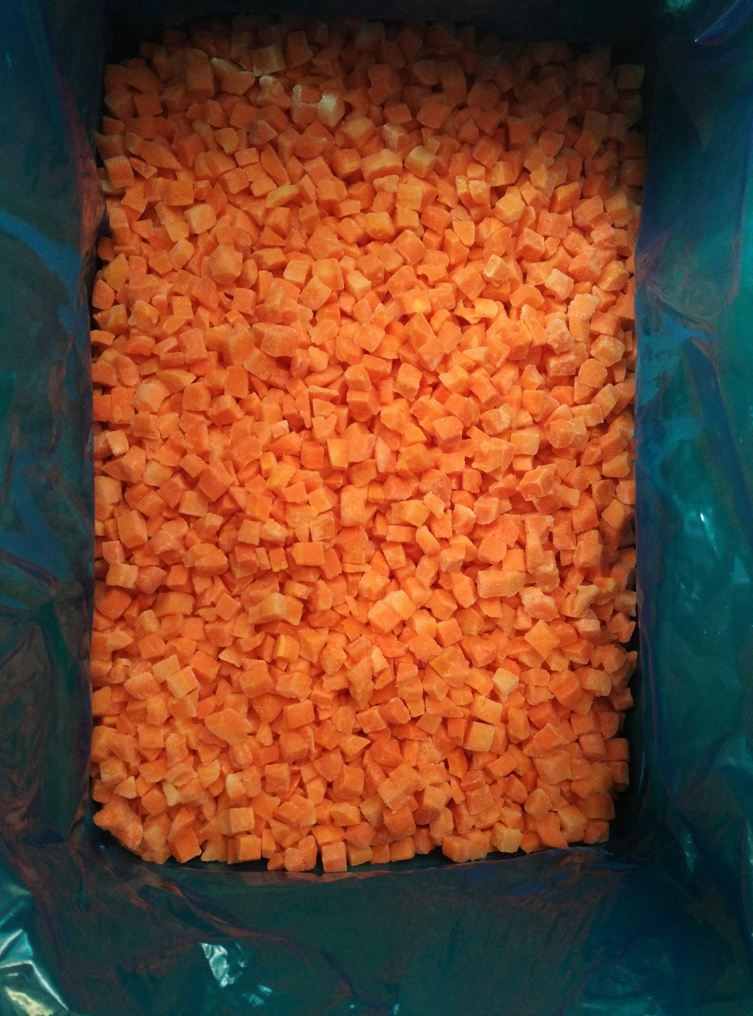 冷冻胡萝卜丁 2