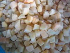 冷凍黃桃丁