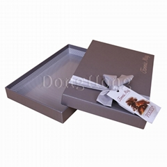 2-Piece Rectangular Deluxe Nut Chocolate Boxes