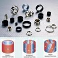 Permanent segment Radial magnetized