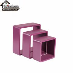 Promotion Wooden MDF Cube Shelf  Set of 3