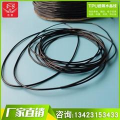 TPUl黑色彈力繩 彩色TPU水晶線