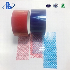 Great Quality VOID OPEN security bags tapes for carton or bags sealing