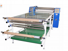 Roller drawing machine