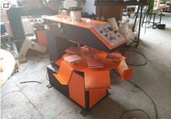 Pneumatic six position stamping machine.