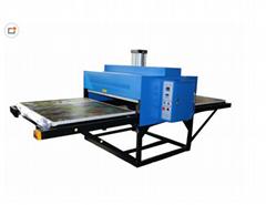 美言MY- 氣動昇華機廠家直銷雙工位氣壓昇華機燙畫機轉印機