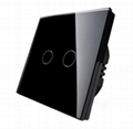 EU Standard Touch Switch  1 Way,Single