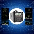 Portable Movable Home Solar Generator 300W DC AC 12V 220V Inver 2