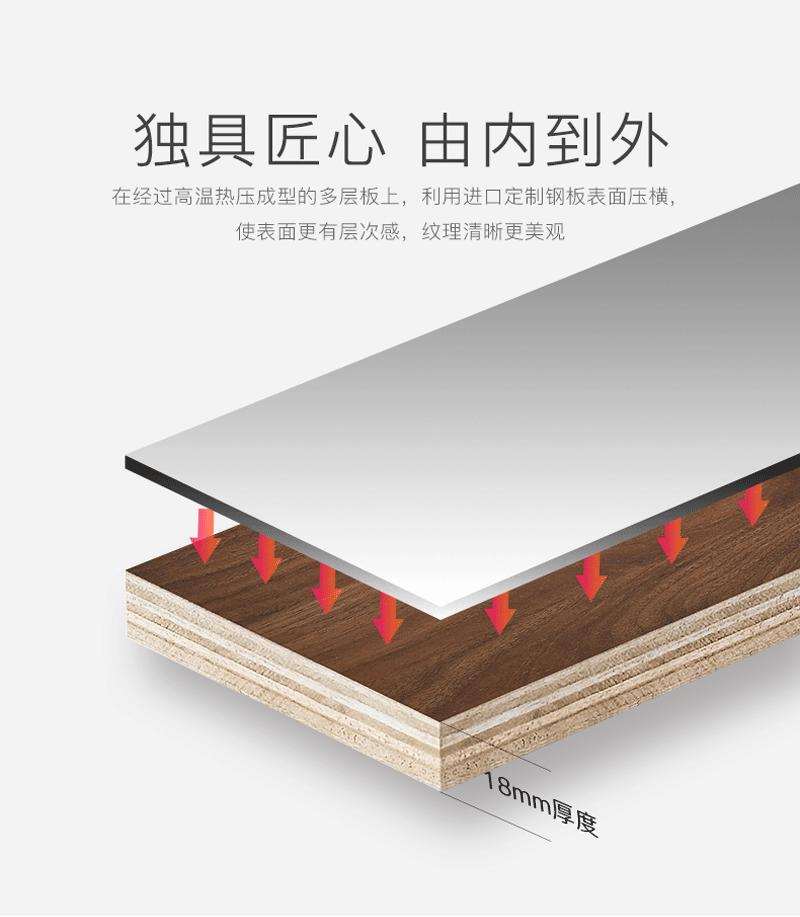 愛尚衛浴AS-6147-100多層實木浴室櫃 3