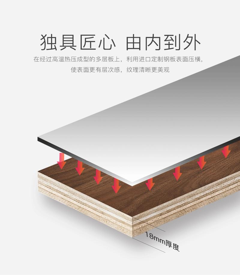 愛尚衛浴AS-25026多層實木浴室櫃 5