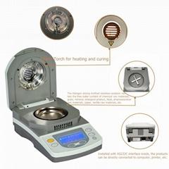 Moisture Analyzer Balance With Halogen Heating