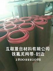 粉片预干机铁氟龙高温输送网带
