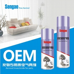aerosol insecticide spray for pets