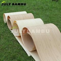 0.3mm 0.5mm 0.6mm Carbonized Vertical Oil Paint Waterproof Bamboo Wood Veneer
