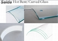 Custom Tempered glass processing cut to