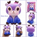 Kiibru PU soft Galaxy Deer squishy toys