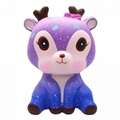 Kiibru PU soft Galaxy Deer squishy toys 2