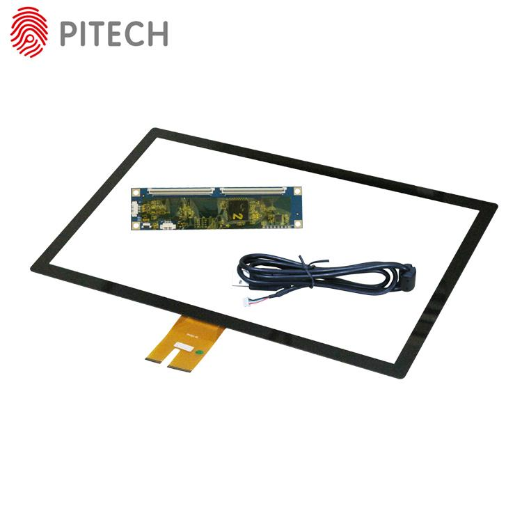 USB 15 Inches Capacitive Touch Screen Overlay Kit 2