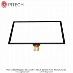 Large Display Touchscreen 27 Inches Capacitive Touch Glass